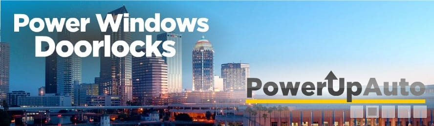 Power Window Repair Tampa St Petersburg